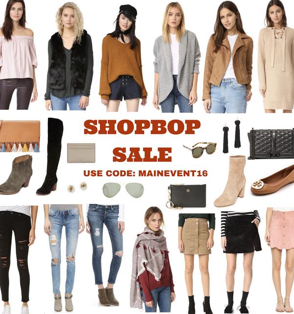 Fall Favorites & SHOPBOP Sale