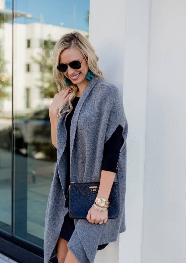 Must Have Grey Sweater Wrap