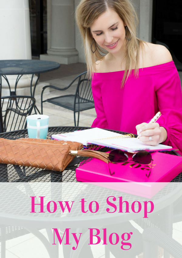 How to Shop My Blog