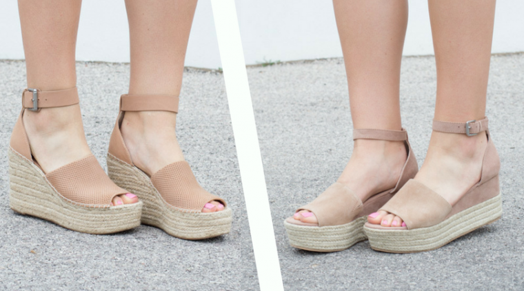 2f5999807d4 Espadrille Wedge Sandal Review - Simply B Style