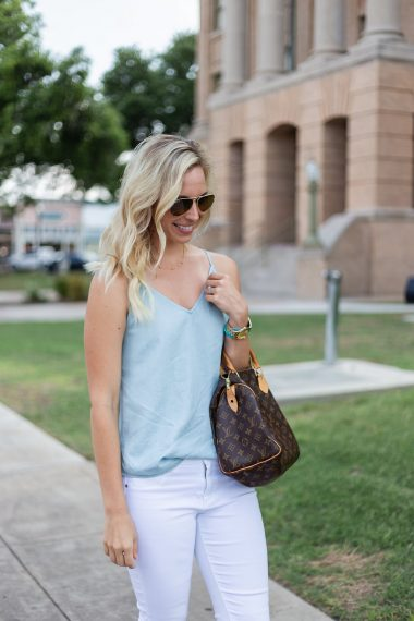 Loft Strappy Chambray Cami