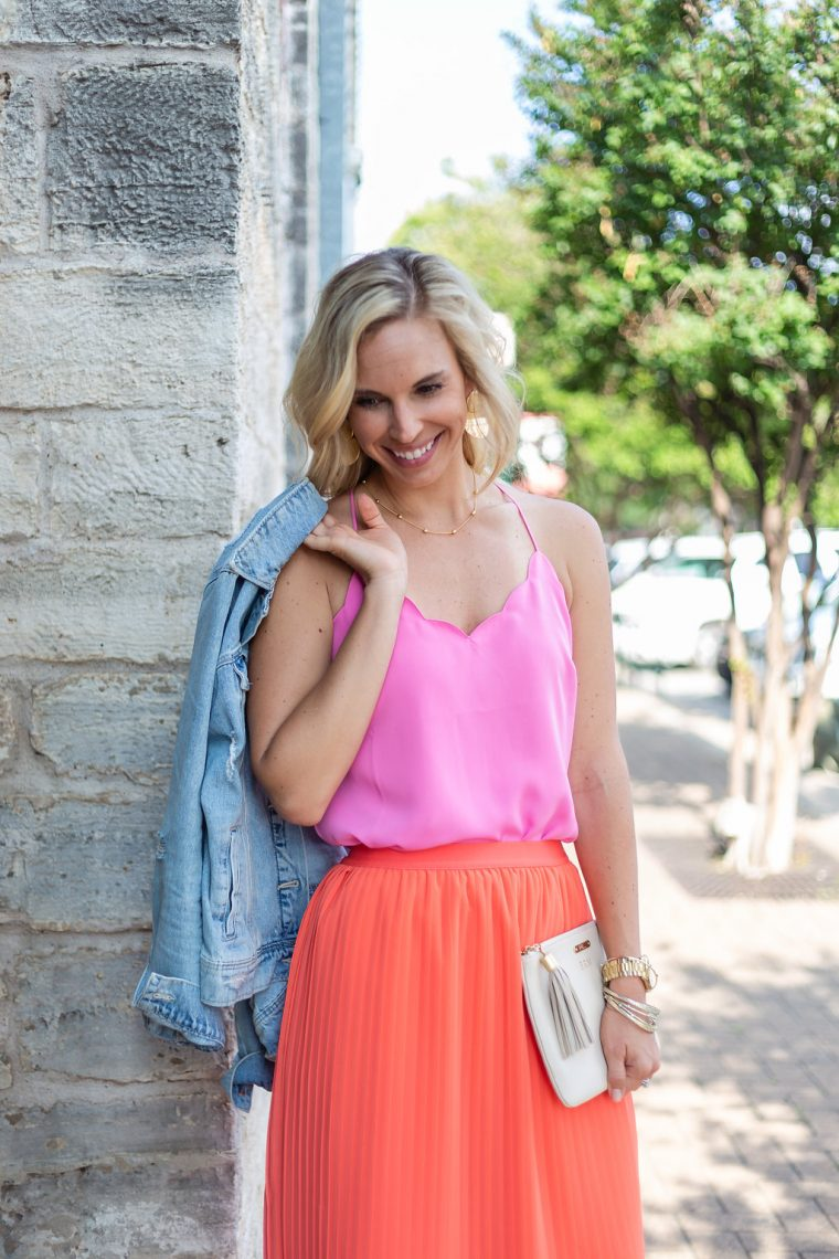Scalloped Cami