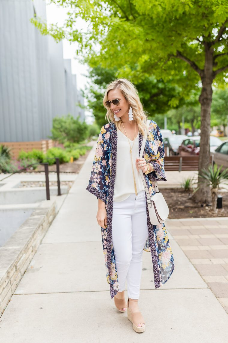 Floral Duster Outfit