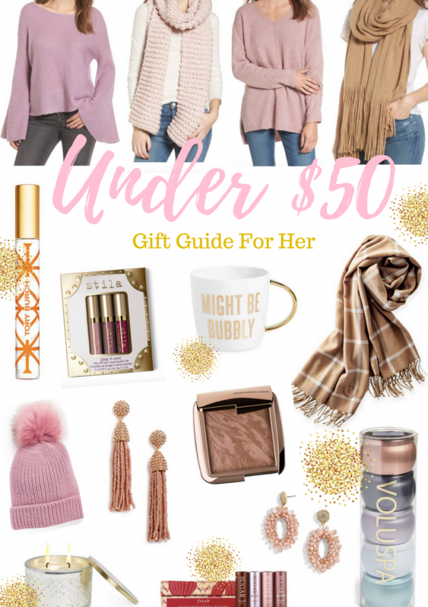 Under $50 Gift Guide for Her