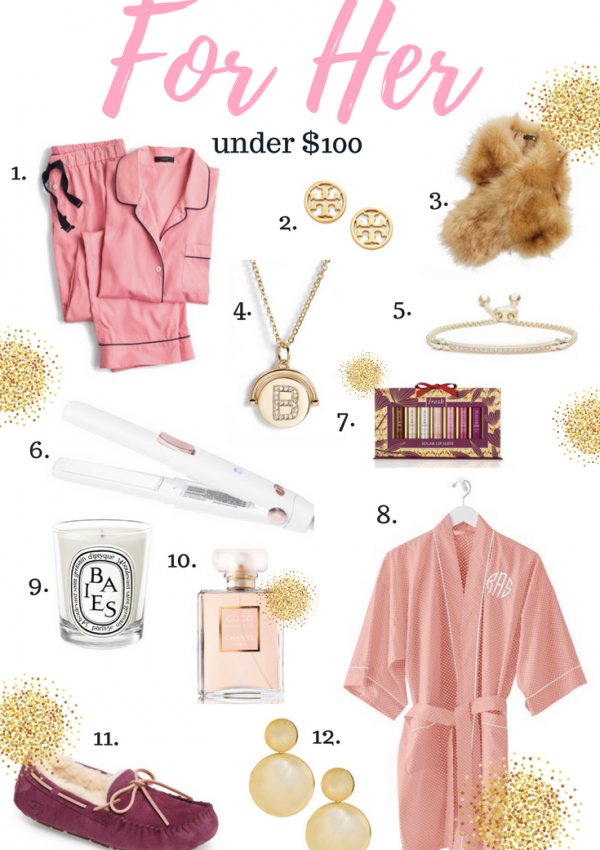 Gift Guide For Her – Under $100