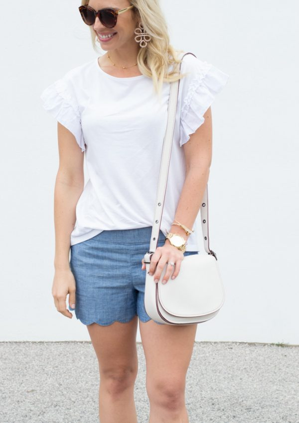 The Cutest White Tee – Under $20